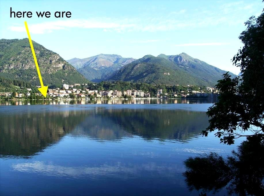 Apartment and garden on the lake - Omegna - アパート