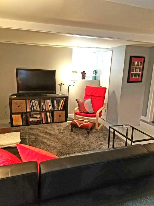 Cozy Basement Apt Near Skiing and Downtown - Salt Lake City - Apartamento