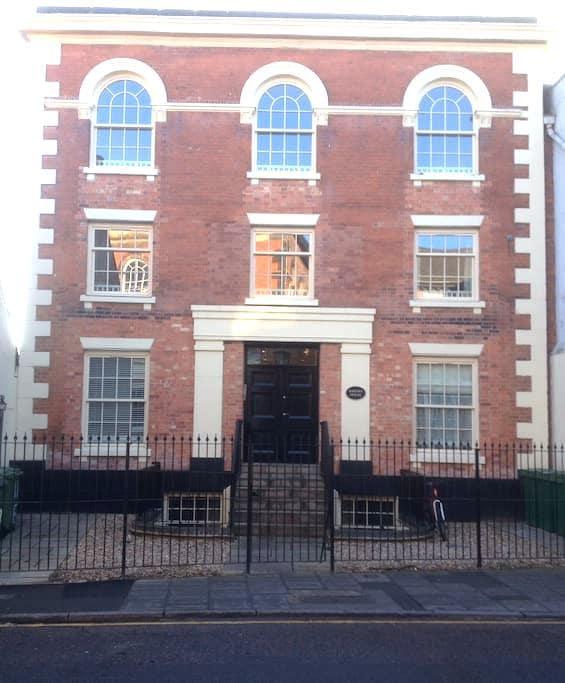 Apartment in Georgian conversion - Newark-on-Trent - Pis