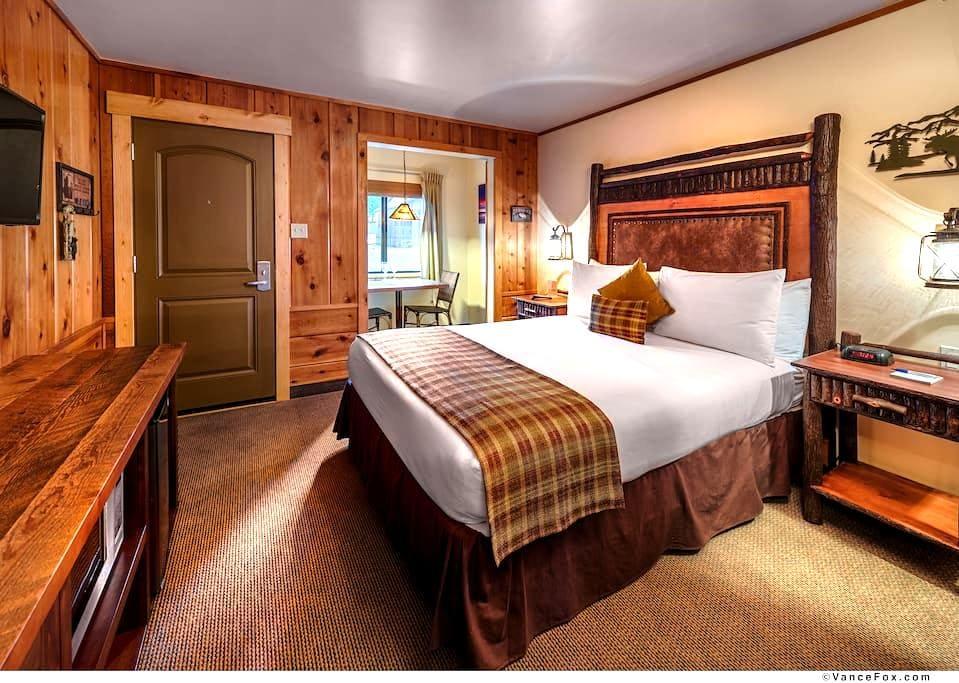Cozy Studio Cabin for 2 - Tahoe Vista - Allotjament sostenible a la natura