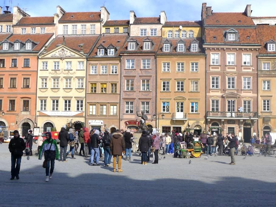 OLD TOWN SQUARE- the best VIEW - Varsóvia - Apartamento