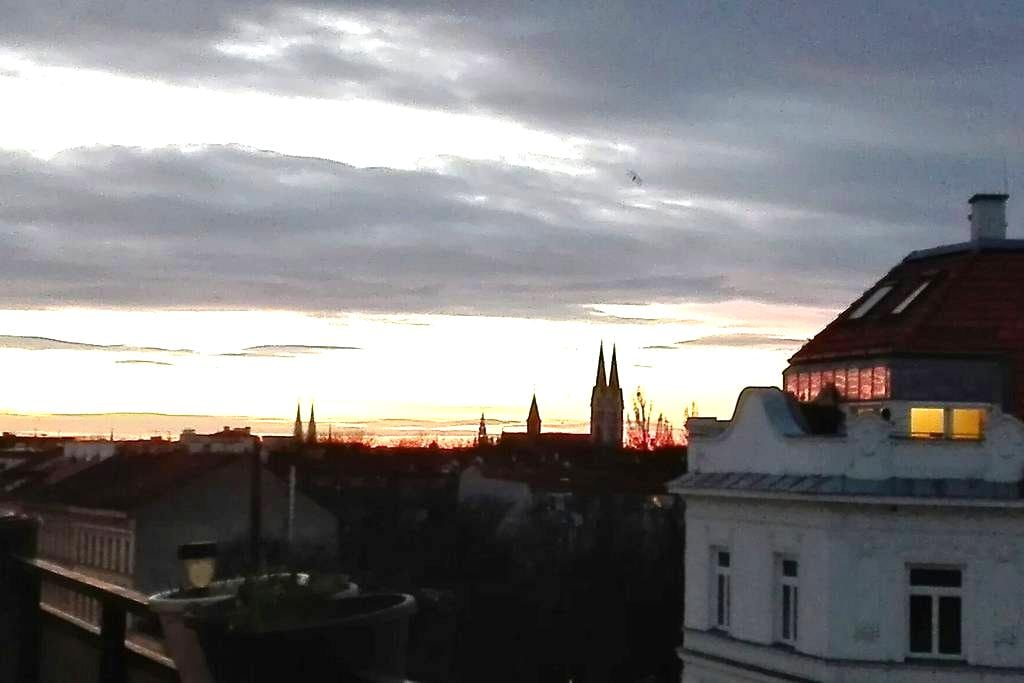 Lovely Studio with terrace and view - Wien - Apartment