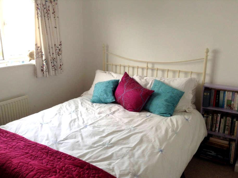Comfortable ensuite double room in Abergavenny - Abergavenny - Leilighet