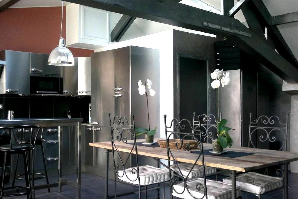 Loft 56m2 fully equiped, 10mn from Parc des Expos - Aulnay-sous-Bois