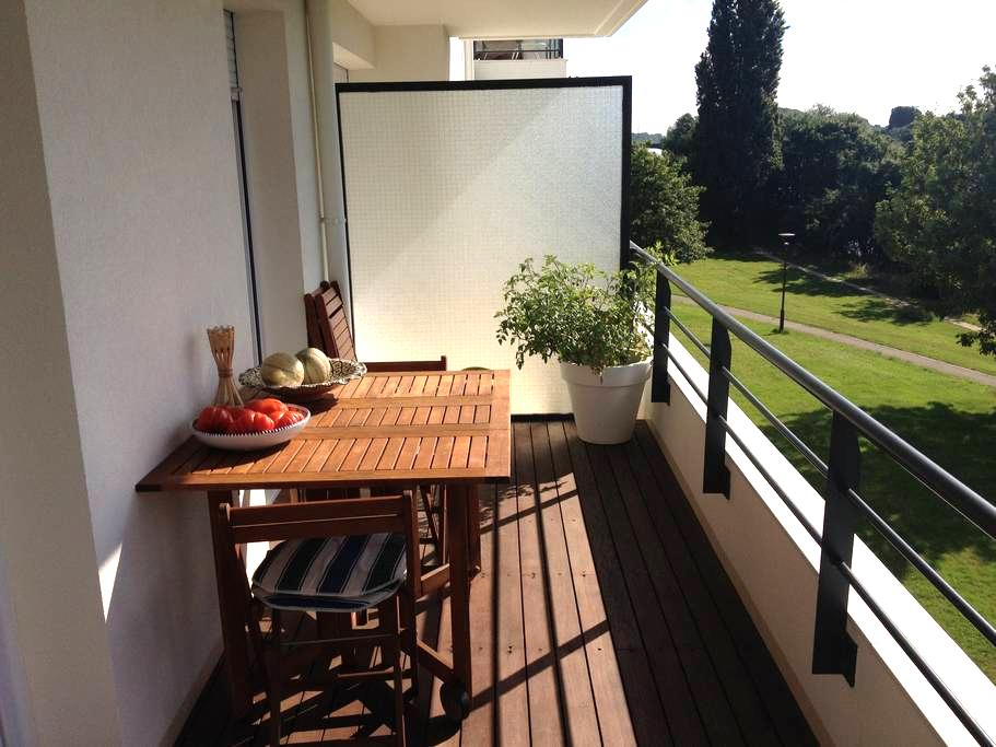 Room to rent in front of the Loire - Nantes - Aamiaismajoitus