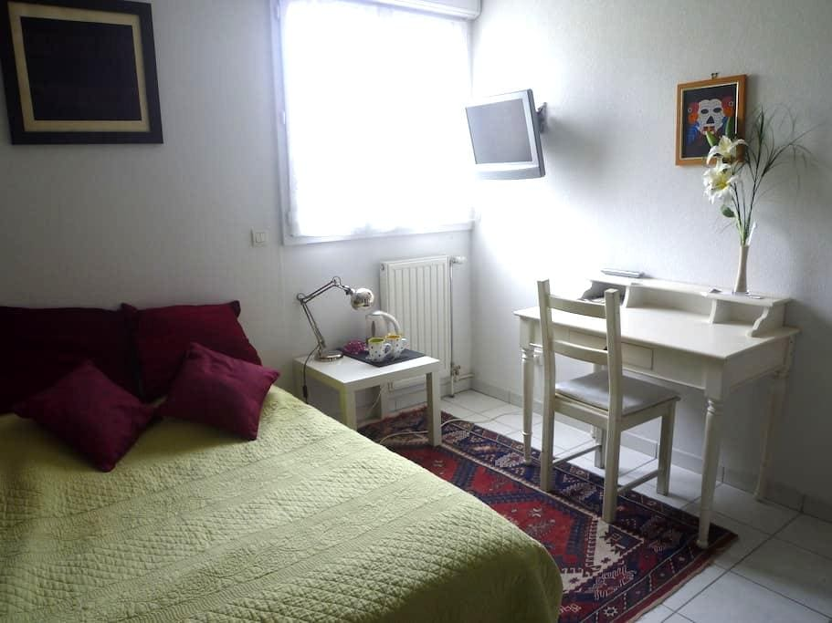 room with bathroom TV wifi - Montpellier - Apartment