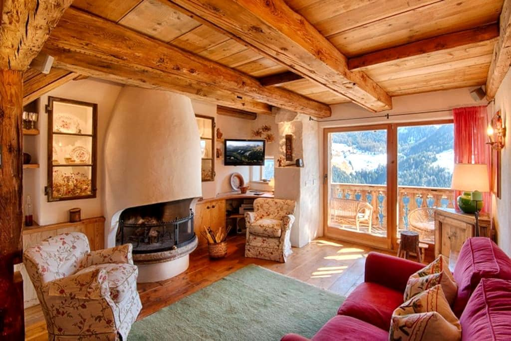 Beautiful chalet in the heart of the Dolomites - La Valle