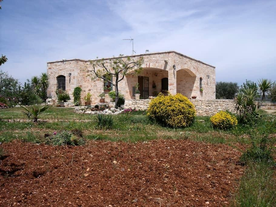 Casa di Campagna in pietra antica - Alberobello a 4 km Castella Grotte 6 km