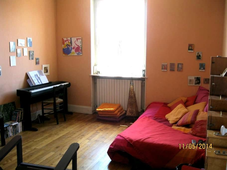 Chambre paisible proche gare - Bourg-en-Bresse - อพาร์ทเมนท์