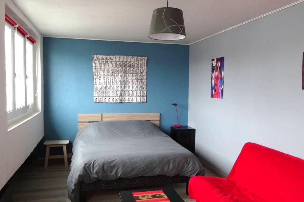 60m² avec deux chambres en plein centre-ville - Boulogne-sur-Mer