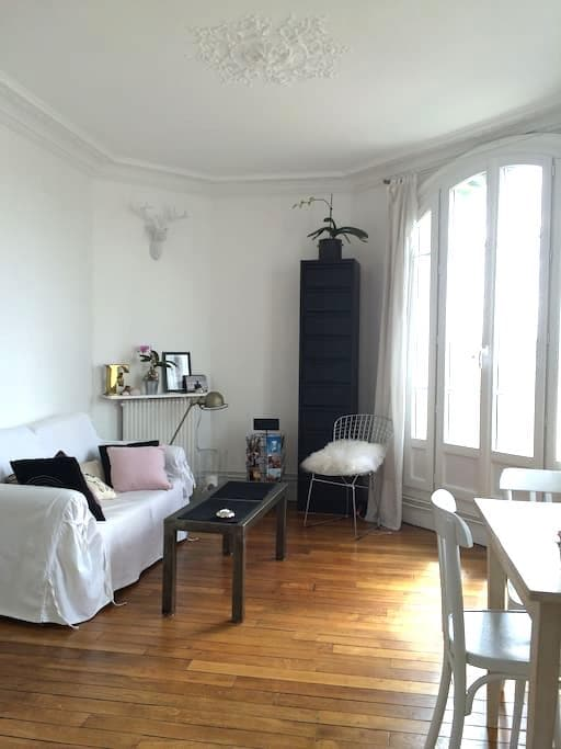 Typical Parisian flat in Paris ! - Asnières-sur-Seine