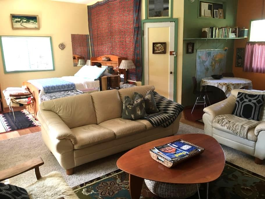 Urban studio and sauna house - Bellingham - Apartament