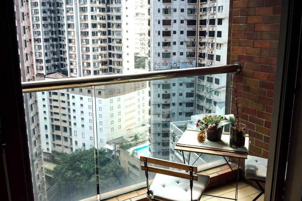 Stylish Mid Levels Apartment (Private Room) - ฮ่องกง - อพาร์ทเมนท์