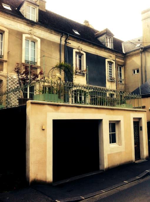 Maison de ville Mortagne au Perche  - Mortagne-au-Perche - Haus