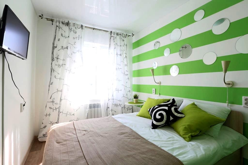 Комната с дизайнерским ремонтом - Ulan-Ude - Appartement