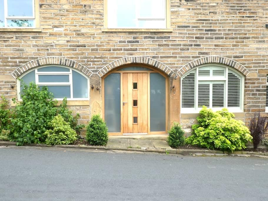 Luxury apartment in Pennines within 18thC house - Holmbridge - Apartamento