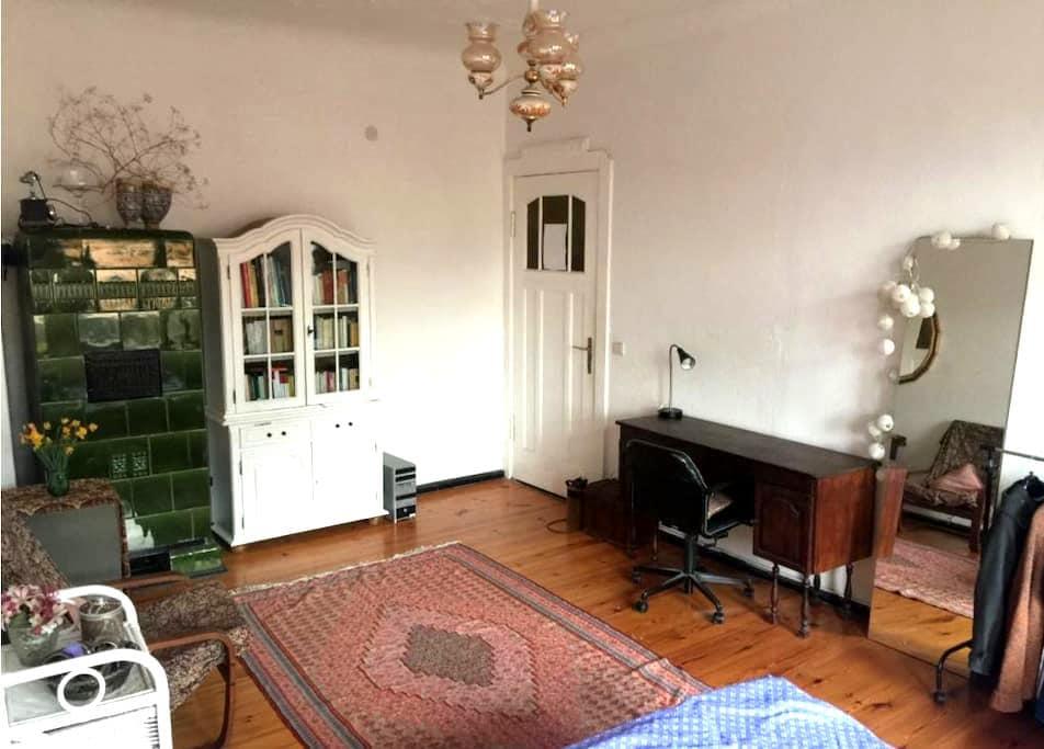 Beautiful room near Tempelhofer Feld - Berlijn - Appartement