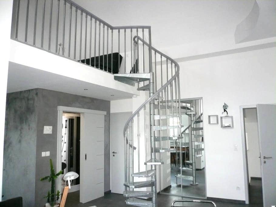 duplex avec chambre mézzanine - Kilstett - Wohnung