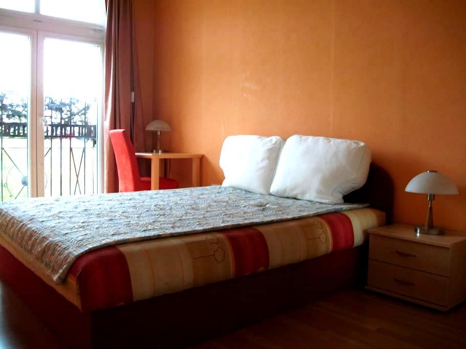 Silent room, downtown within 10 min - Boedapest - Appartement