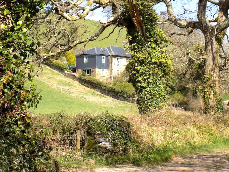 Cottage with Beautiful Views - Totnes - 家庭式旅館