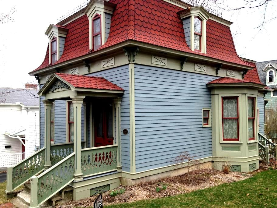 Historic home in downtown - Corning - Casa