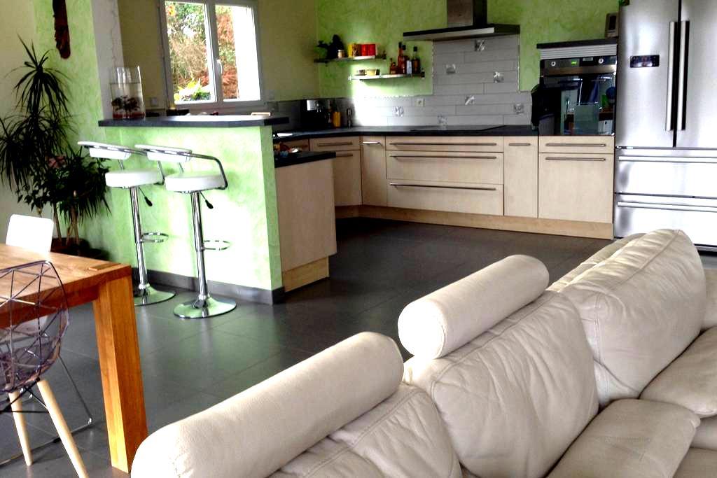 Maison spacieuse avec spa entre Loire et Forêt - Bray-en-Val
