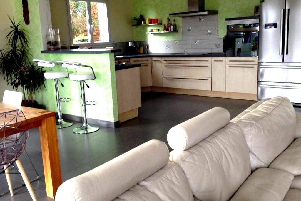 Maison spacieuse avec spa entre Loire et Forêt - Bray-en-Val - Casa
