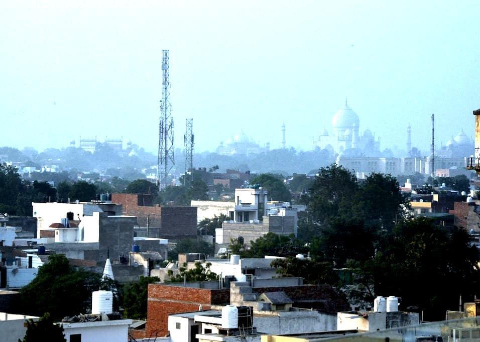 Penthouse w a Wow view of the Taj M - Agra - Apartament