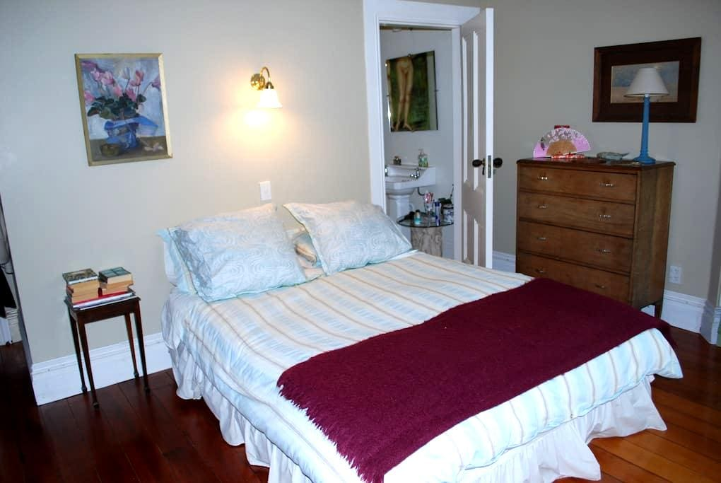 Gracious Victorian inner city home  - Wellington - Bed & Breakfast