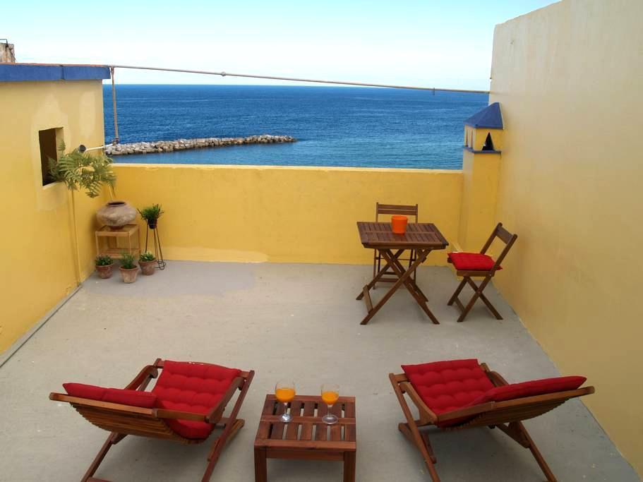 Casa vista al mar casco histórico - サンタ・クルス・デ・ラ・パルマ