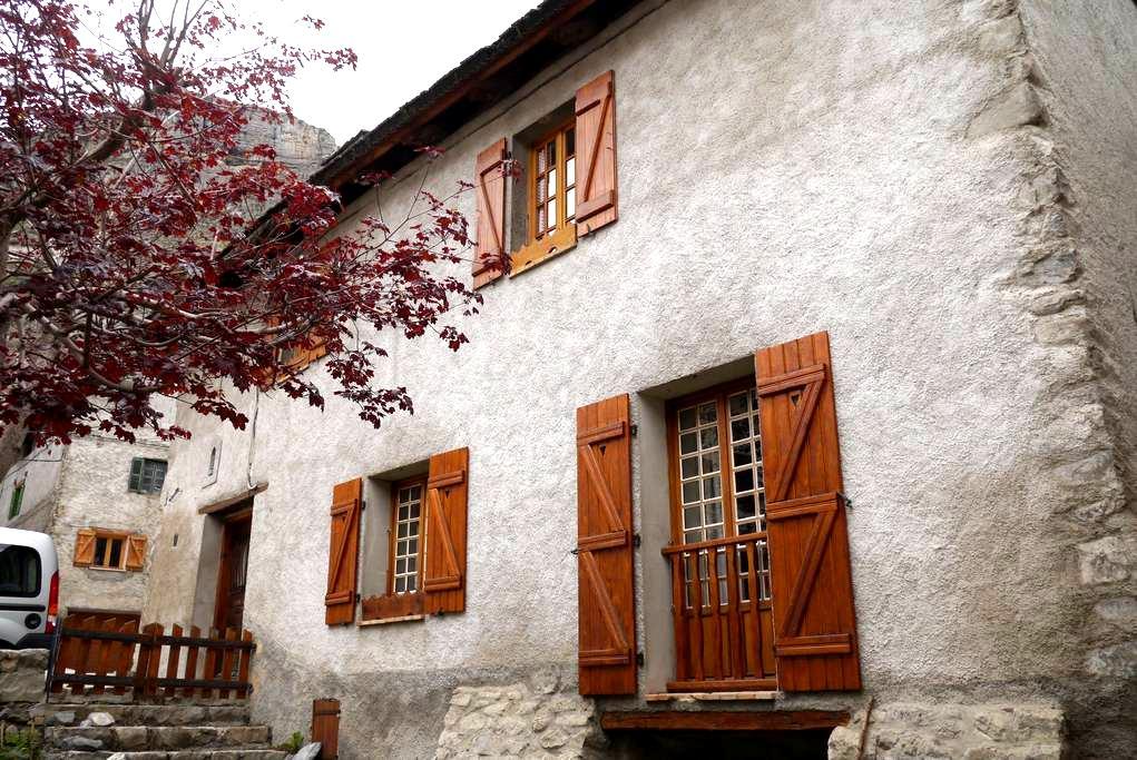 L'Erable mountain house - Saint-Dalmas-le-Selvage - Casa