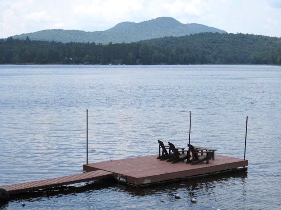 Lake House-Long Lake, Adirondacks  - Long Lake