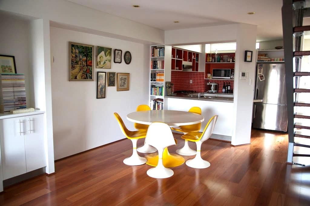 Artsy apartment in Bowen Hills - Bowen Hills - Appartement