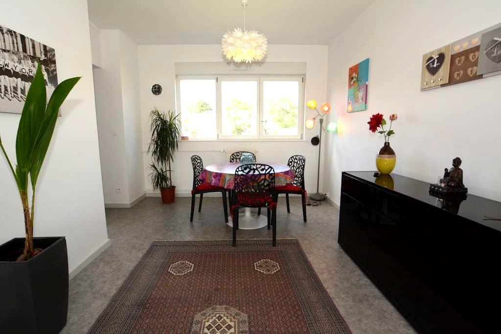 Bel appartement lumineux de 65 m2 avec terrasse. - Nancy - Apartment