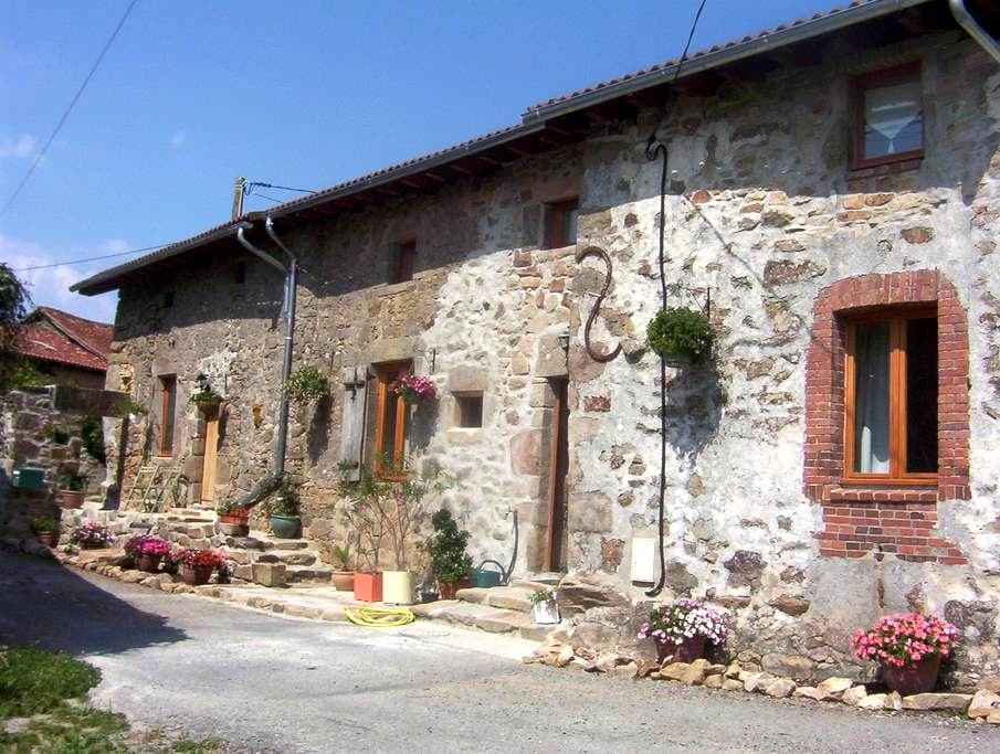 Double ensuite room with use of kitchen and living room facilities - Saint-Auvent