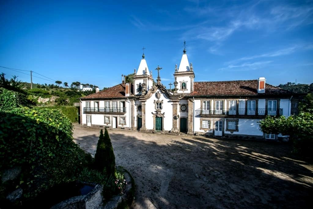 Outeiro Tuías-quarto duplo com vista jardim - Marco de Canaveses - Aamiaismajoitus