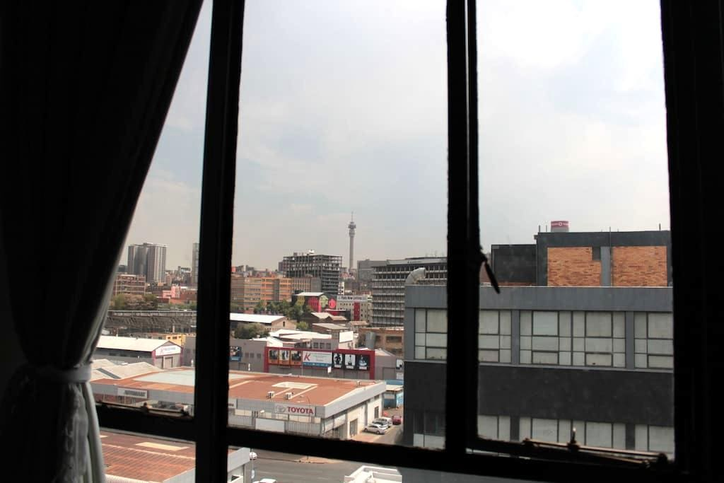 Perfect Maboneng loft studio! - Johannesburg - Apartment