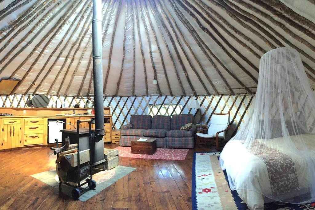 Unplug! - Family Friendly Yurt at the Forest Edge - Wendell - Yurt