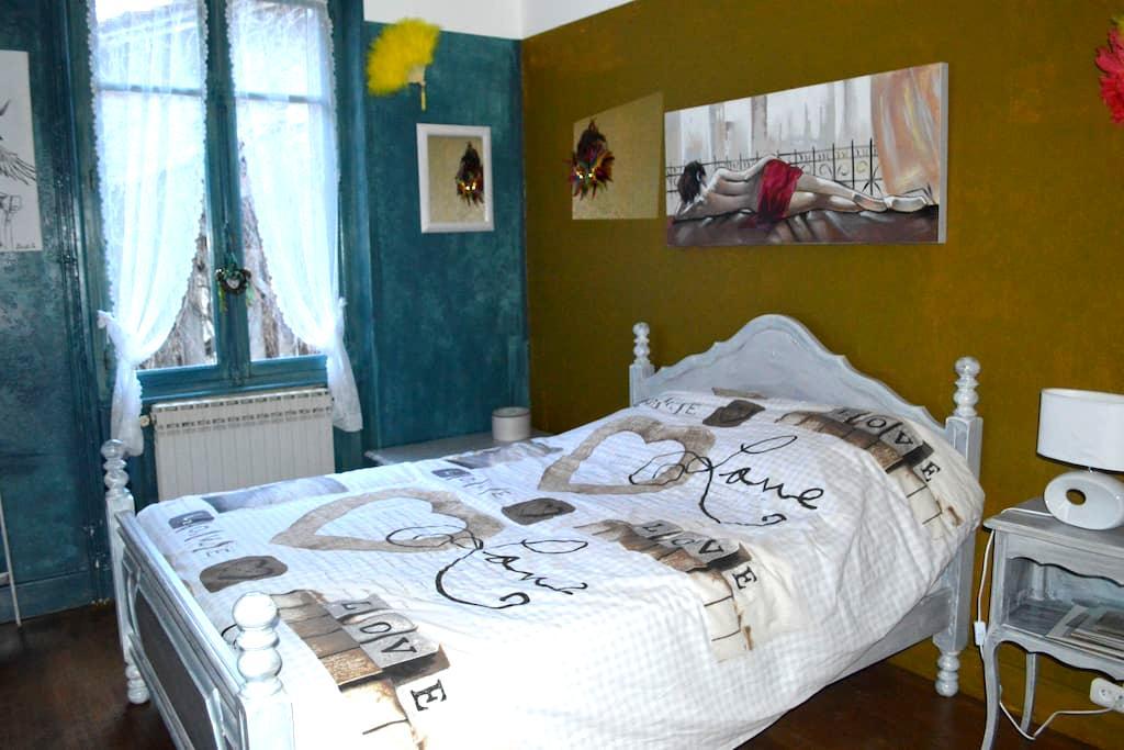 3 ch indiv. dans maison de campagne - Saint-Ignat - Bed & Breakfast