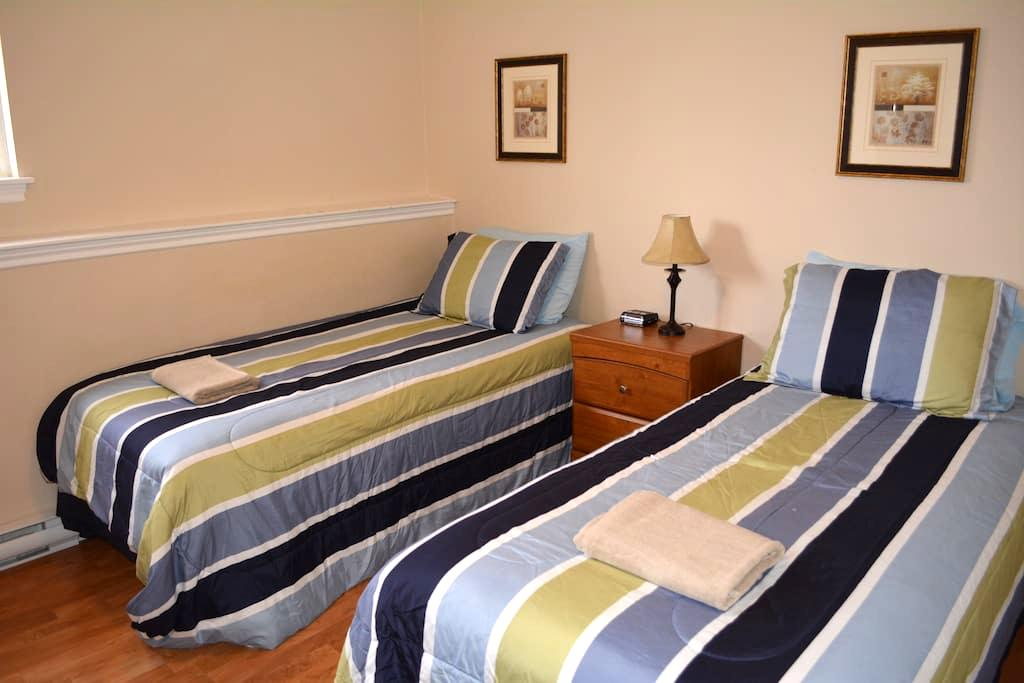 Travellers' Dream ★ Guest WC ★ Next To Mall ★ TV - Fredericton - Apartamento