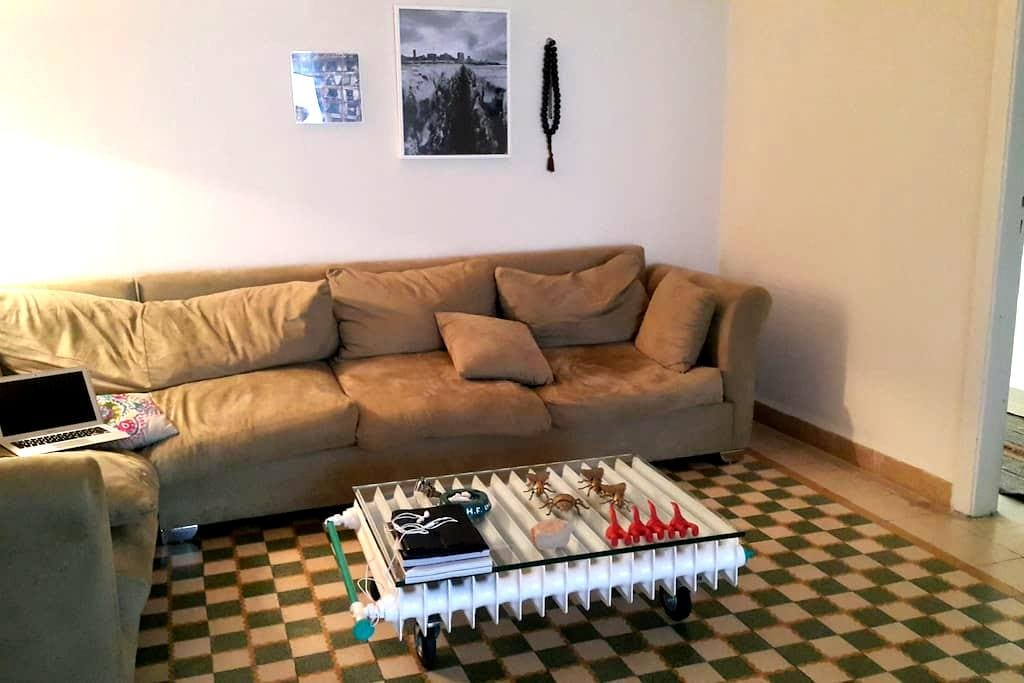 Cozy 2-Bedrooms Flat In Mar Mikhael - Beirut - Apartmen