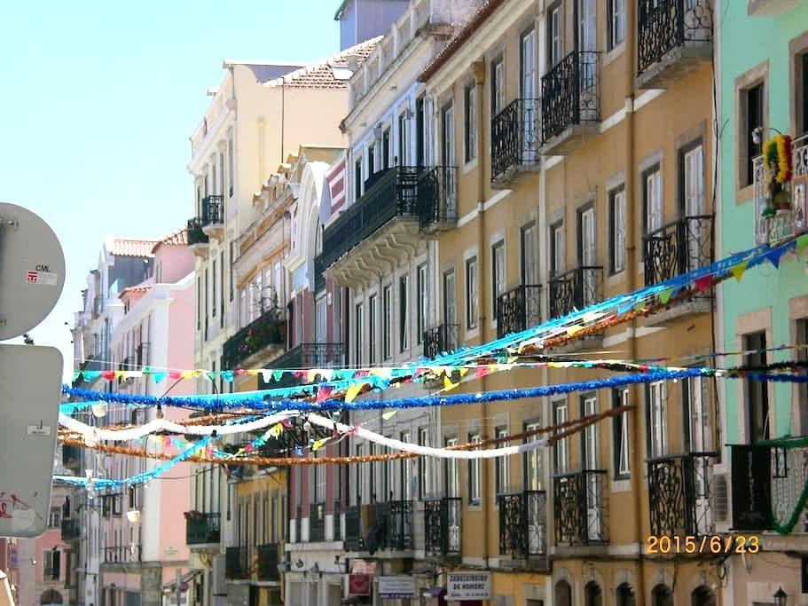 camera in pieno centro - Lisboa - Bed & Breakfast