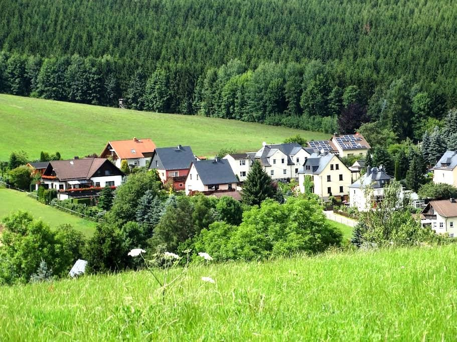 Haus Am Vaterlandsgrubenweg mit 2 Gästewohnungen. - Oelsnitz/Erzgebirge - Daire
