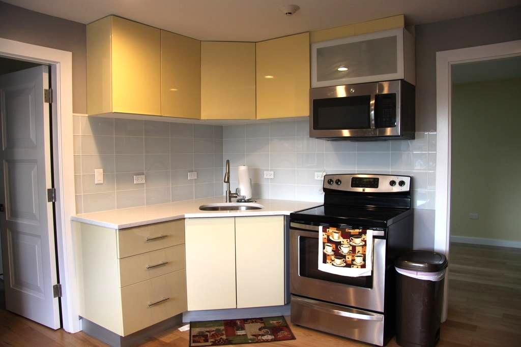 New Luxury 2 Bedroom 15 Mins to O'Hare - Stone Park - Lakás