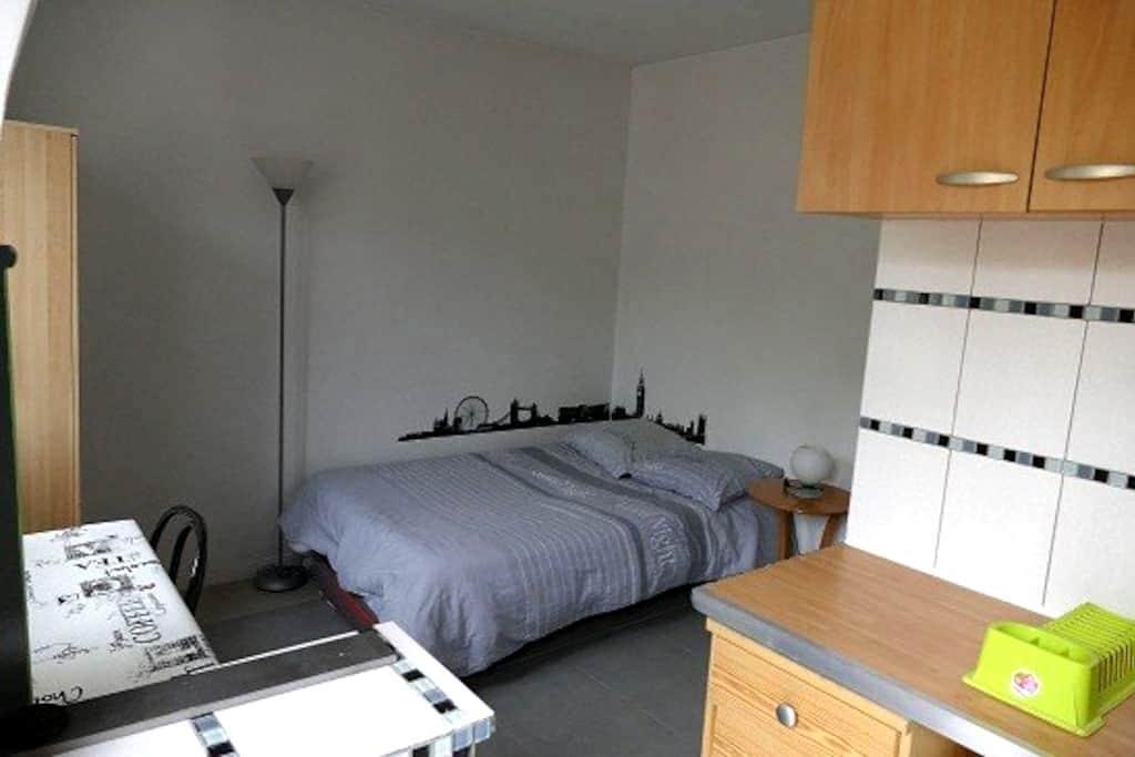 Studio indépendant - quartier calme - Neuilly-lès-Dijon - Byt