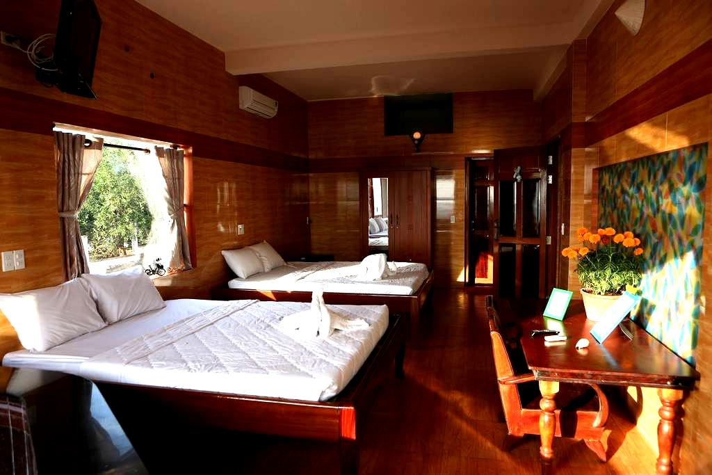 Source Lodge4 - Deluxe Double/Twin - tp. Phan Thiết