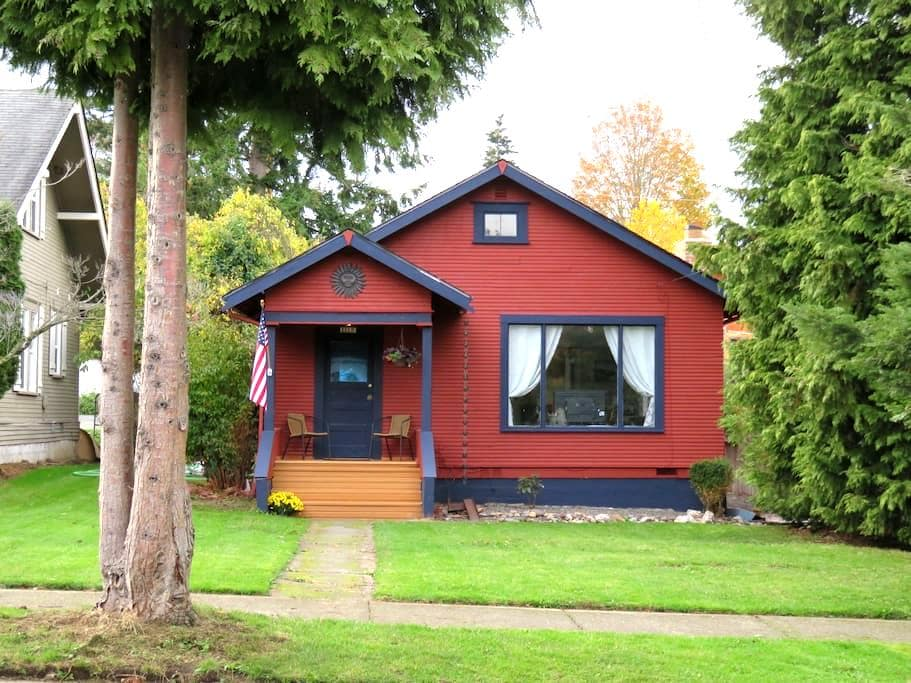 Bellingham Bungalow--entire 800sf home - Bellingham - Rumah