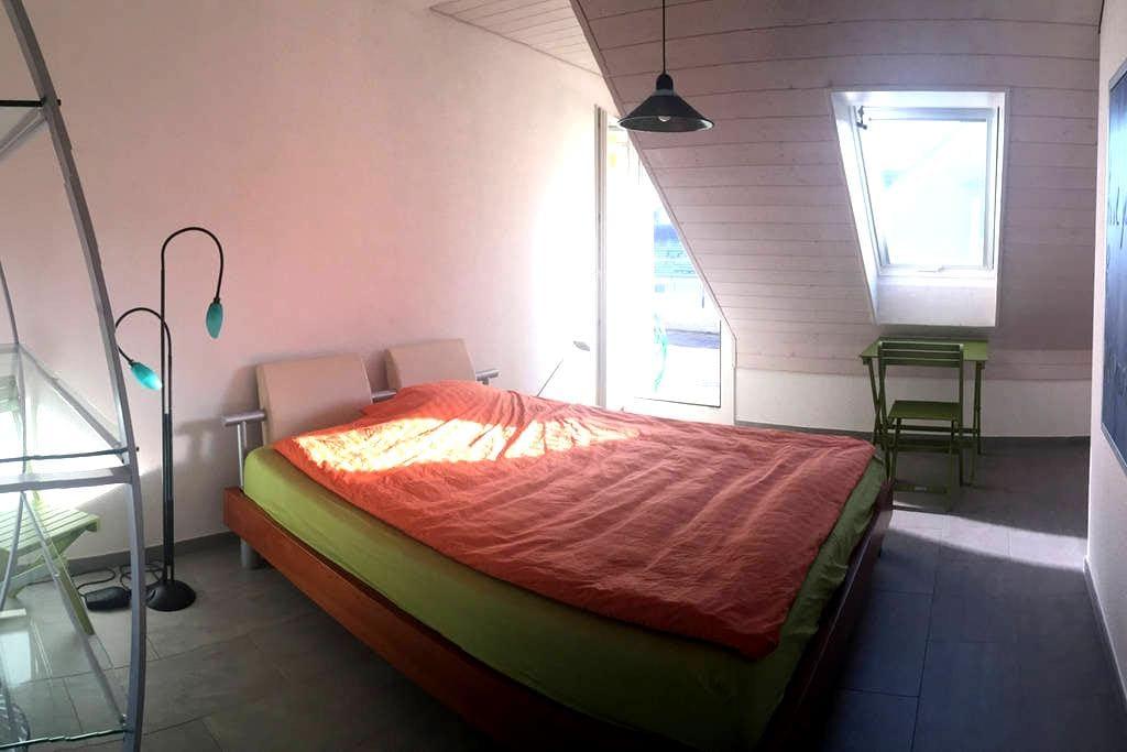 Comfortable room - city & nature - Egg - Lejlighed