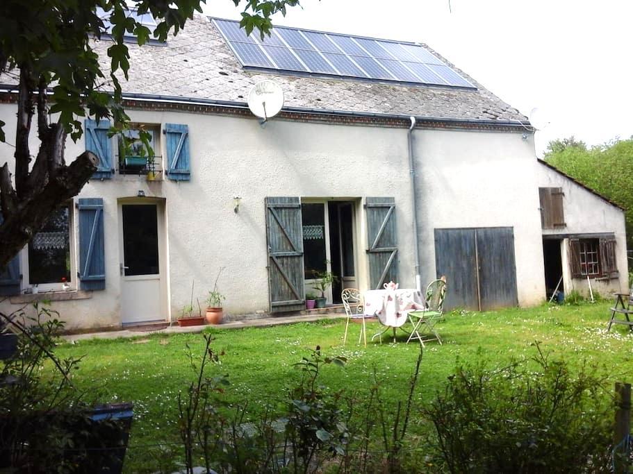 Charmante Maison en jolie campagne - Moutier-Malcard - Hus