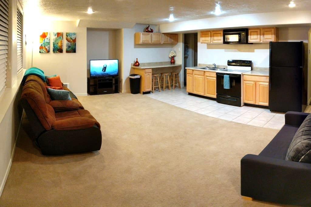 Basement Apartment w/Kitchen - Rexburg - Appartement